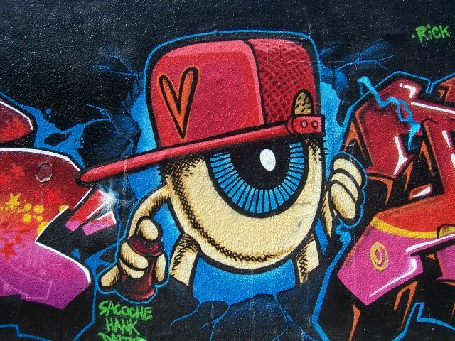 Graffiti Hip Hop Rennes Saint-Hélier