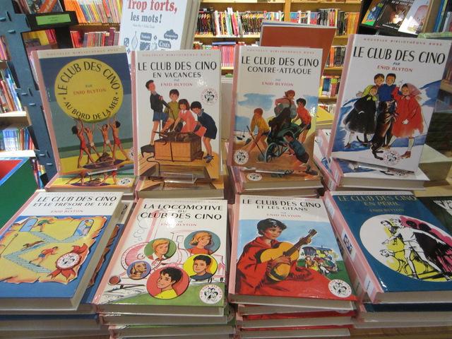 le club des cinq livre